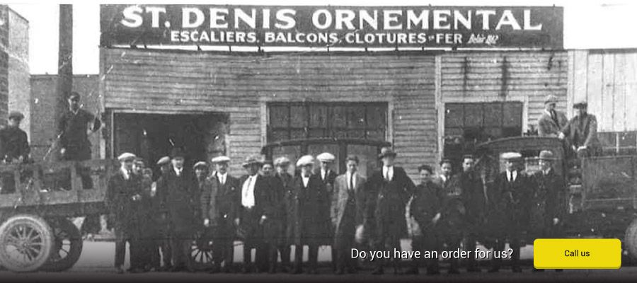 Do you have an order for us? – The team at St-Denis Ornemental